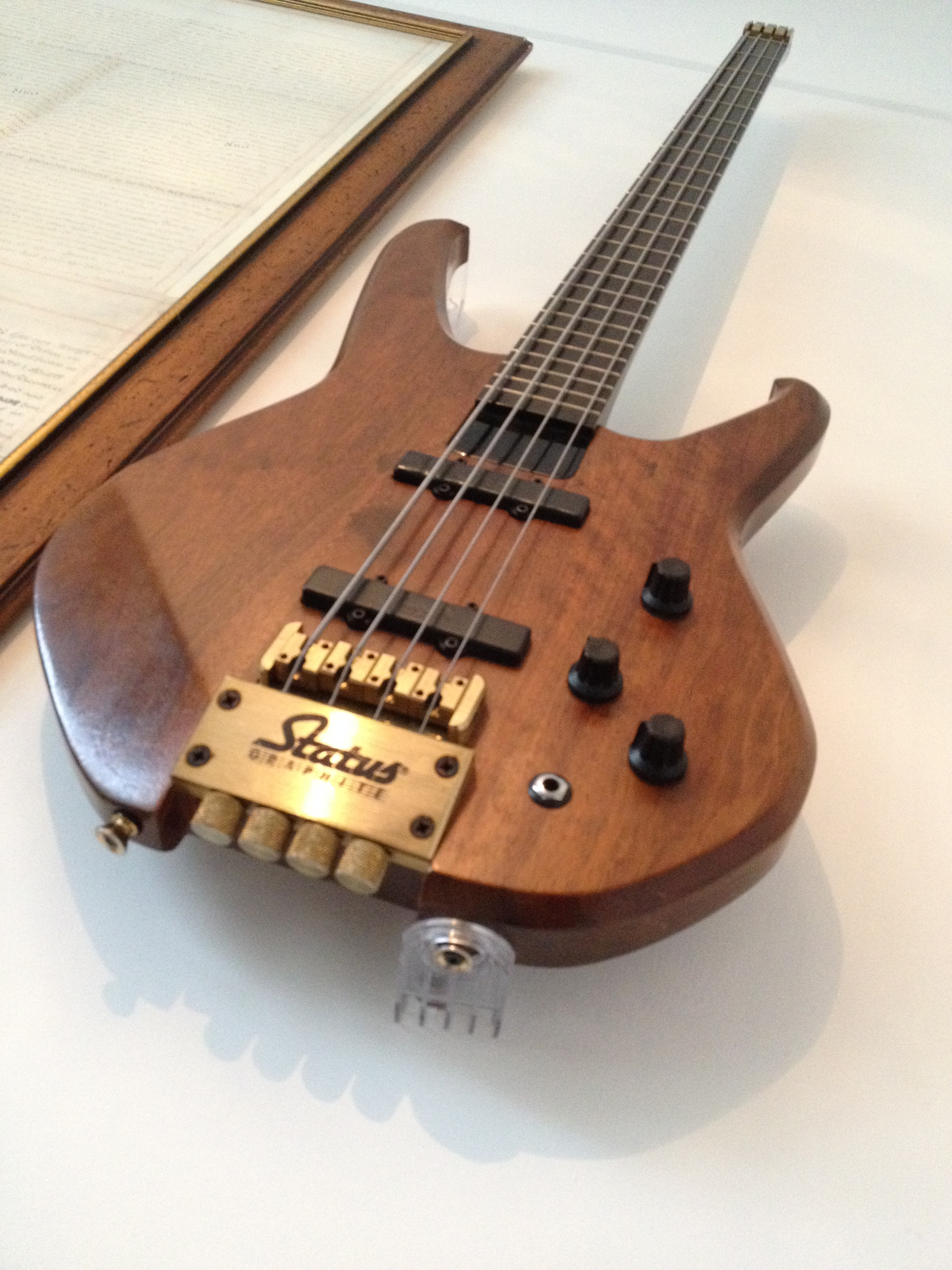 Woodies Invisible Guitar Hanger for all guitars
