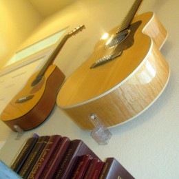 It's possible to hang acoustics, you can email me for details